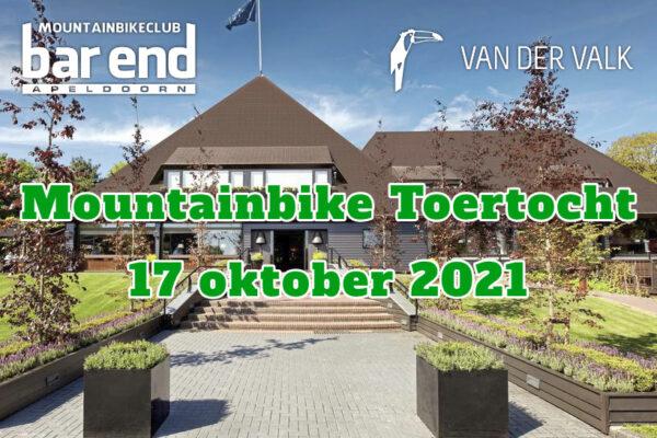 17 oktober MTB toertocht Apeldoorn